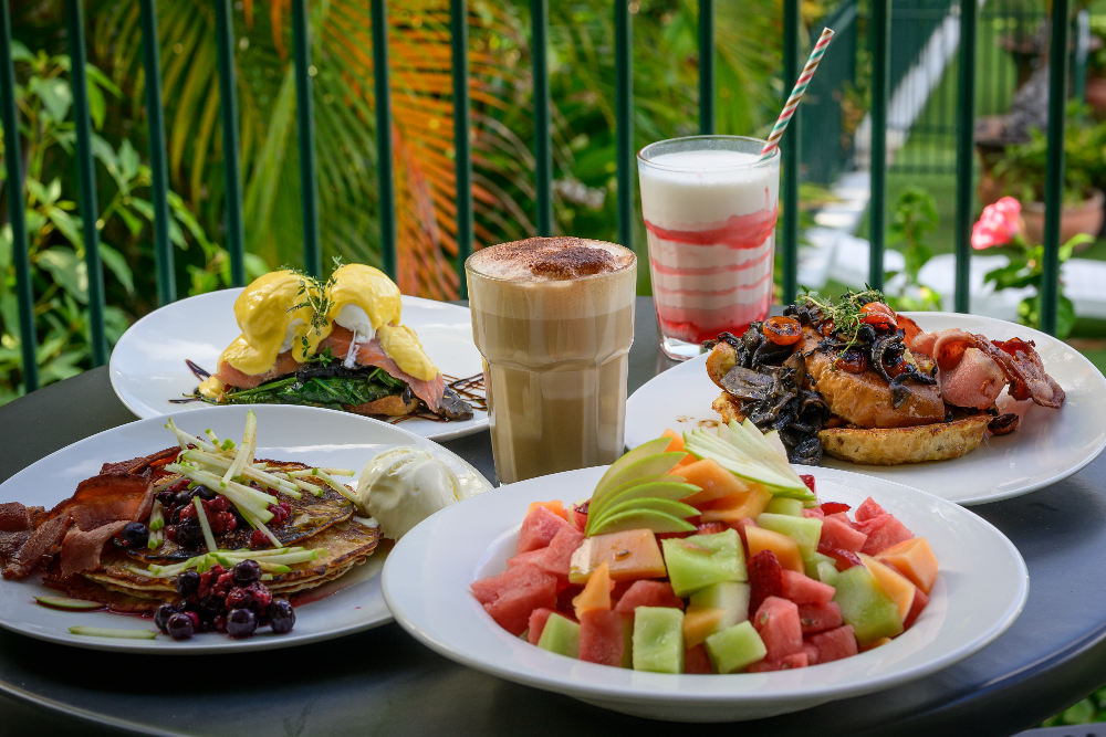 Dining at Up The Garden Path - Magnetic Island Restaurant & Bar